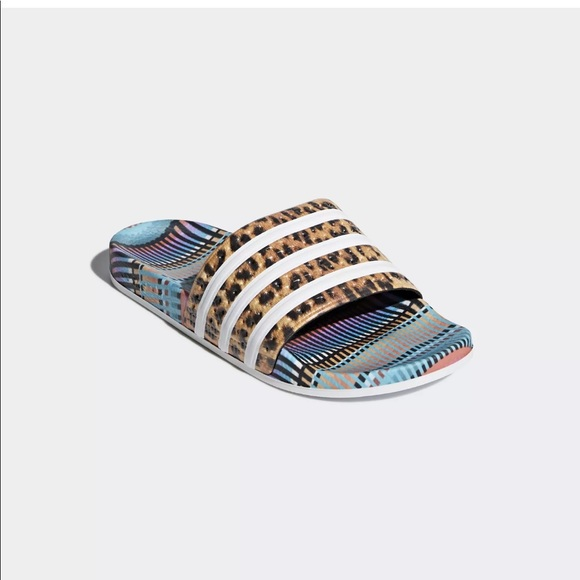 470bda54f644 Adidas x The Farm Adilette Multi Color Slides